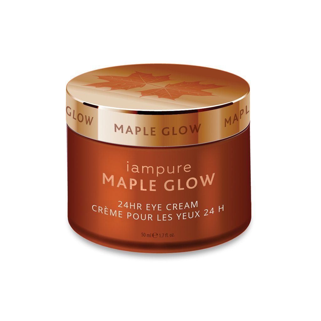 iampure Maple Glow 24hr Eye Cream - eVitality.ca