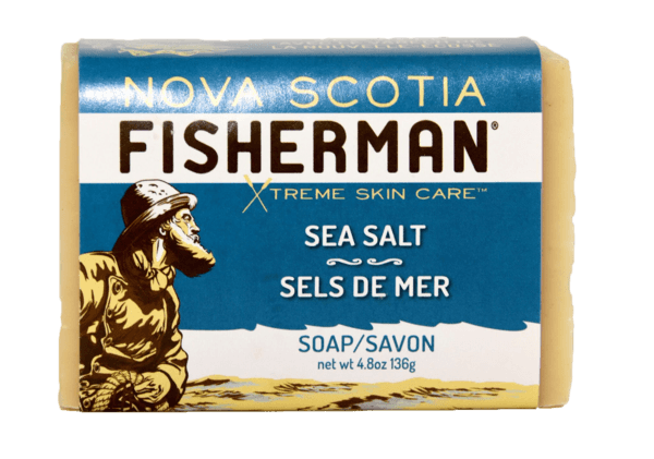 Nova Scotia Fisherman Sea Salt Bar Soap - eVitality.ca