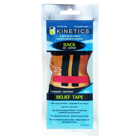Kalaya Kinetics Back Support Relief Tape - eVitality.ca