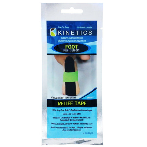 Kalaya Kinetics Foot Support Relief Tape - eVitality.ca