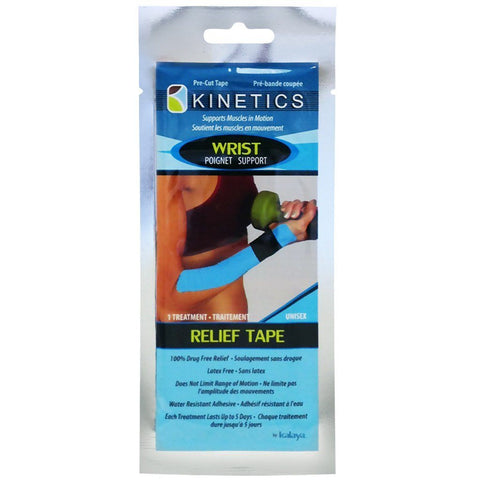 Kalaya Kinetics Wrist Support Relief Tape - eVitality.ca