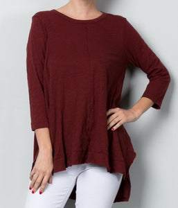 Burgundy Lounge Tunic