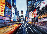 Textured New York Painting - 40x30in