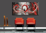 Red 414 - Large 1 panel 48x24in