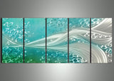 Metal Art 60x24 - Aluminium Water