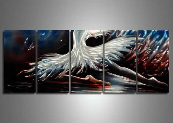 Dancing Art Painting - Metal Wall Art 60x24