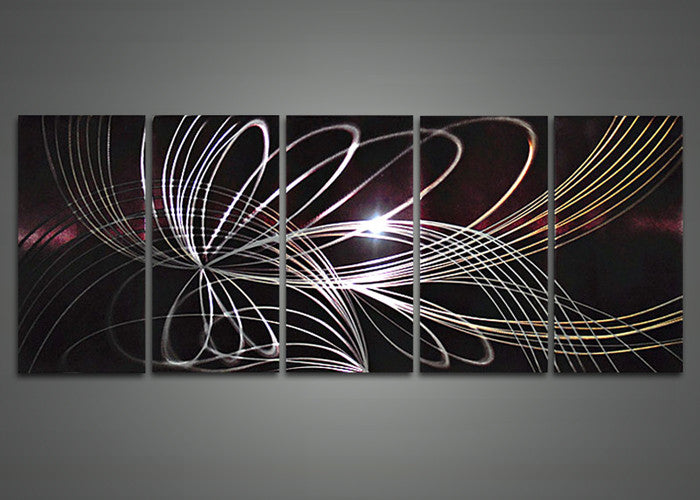 Fabuart Modern Art Painting Abstract Painting And Metal Wall Art