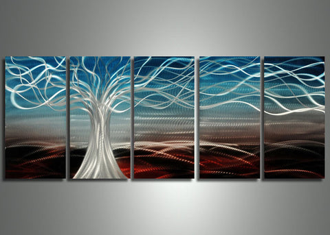 Abstract Tree Art Painting 60x24