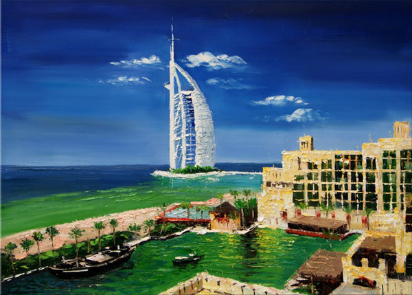 Dubai Art Painting  40x30in