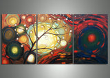 Modern Tree Wall Artwork 607 - 60x24in