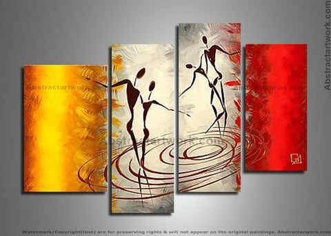 African Contemporary Painting 204 - 42x34in
