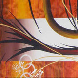 Extra Large Brown Abstract Art Painting 262 - 92x48 inches