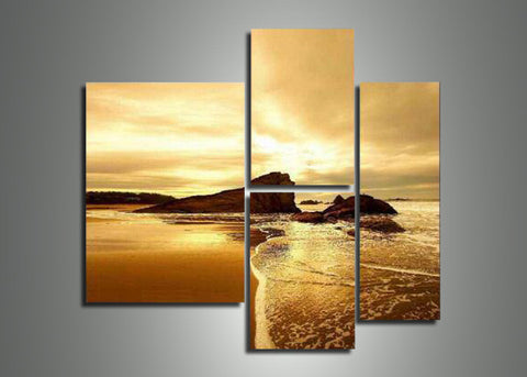 Modern Seascape Art Painting 358 - 46x40in
