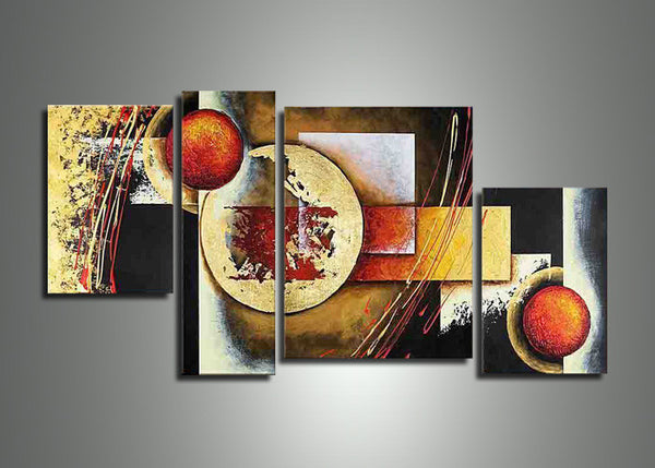 Canvas Oil Painting Abstract 406 - 57,2x32in