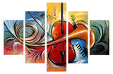 Music Art Painting 421 - 60x32in