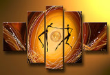Africa Human Wall Art Painting 470 - 58x36in