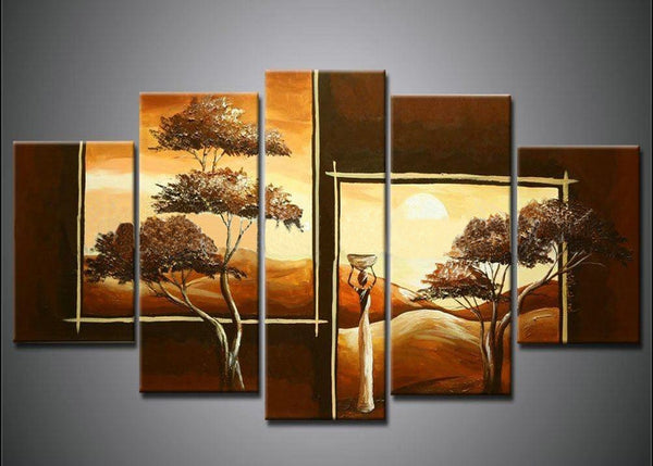Oil Painting 549 - 60x32in