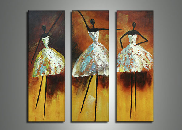 African Woman Dance Art Painting 627 - 36x32in