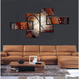Modern Multi Panels Painting 422 -56x32in