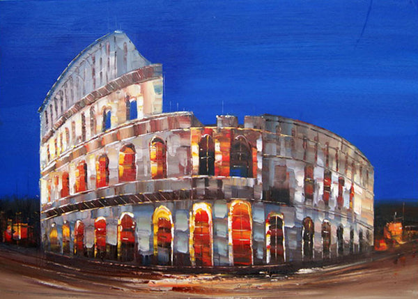 Rome Colosseum Painting 40x30in