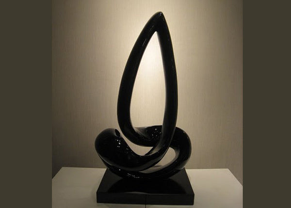 Abstract Black Sculpture