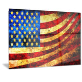 God Bless America Flag canvas Art PT3017