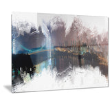Bridge to the City Cityscape - Large Canvas Art PT3316