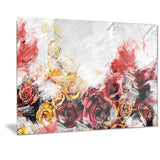 Mixed Roses - Floral Canvas Artwork