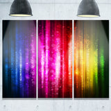 glowing background abstract canvas artwork PT6023