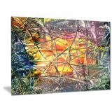 amber abstract abstract canvas artwork PT6033