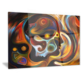 perspectives of inner paint abstract canvas artwork PT6042