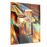 light of the cross abstract canvas artwork PT6046
