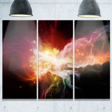 elegance of nebulae abstract canvas artwork PT6051