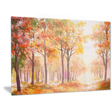 autumn everywhere forest landscape canvas artwork PT6100