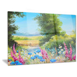 world of flowers floral canvas artwork PT6119