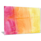 yellow, purple meet orange abstract canvas art print PT6140