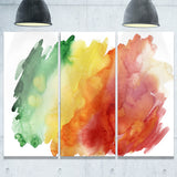 color explosion abstract canvas art print PT6246