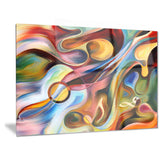 music beyond the frames music abstract canvas print PT6261