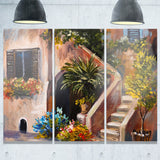 summer terrace landscape canvas art print PT6342