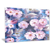 white briar in classical style floral canvas print PT6345