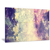 deep blue and purple abstract canvas print PT6377