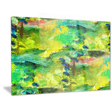 africa green texture abstract canvas art print PT6394