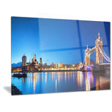 tower bridge london cityscape photo canvas art print PT6422