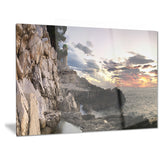 adiratic sunset landscape photography canvas art print PT6434