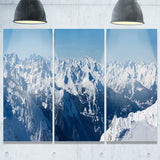 french alps panorama photography canvas art print PT6438