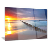baltic sea poland beach photography canvas art print PT6467