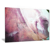 white and purple texture abstract canvas art print PT6512