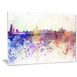 chicago skyline cityscape canvas art print PT6542