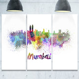 mumbai skyline cityscape canvas artwork print PT6559