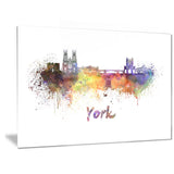 york skyline cityscape canvas artwork print PT6579